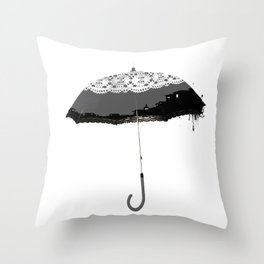 The Winter Umbrella, Winter Things Throw Pillow
