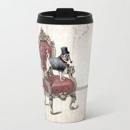 The Imperial Pug Travel Mug