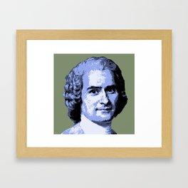 Jean-Jacques Rousseau Framed Art Print