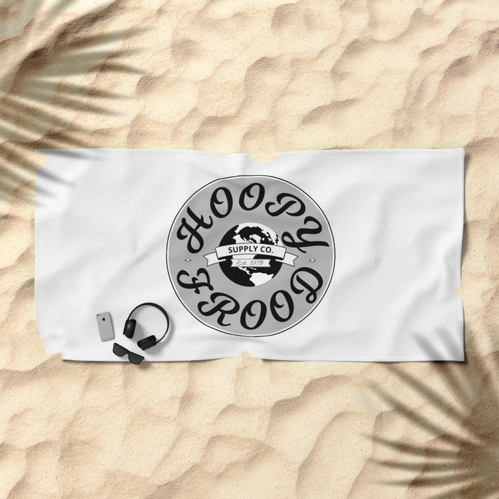 Hitchhiker's Guide Hoopy Frood Towel Supply Co. by WIPjenni Beach Towel