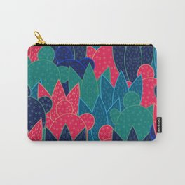 Cactus field at night Carry-All Pouch