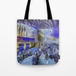 Kings Cross Station Van Gogh Tote Bag