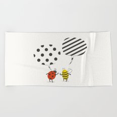Pattern conflict Beach Towel