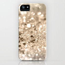 Gold Lady Glitter #1 #shiny #decor #art #society6 iPhone Case