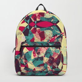 Bohemian Art, Abstract Backpack