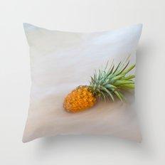 Island Style Pineapple  Throw Pillow