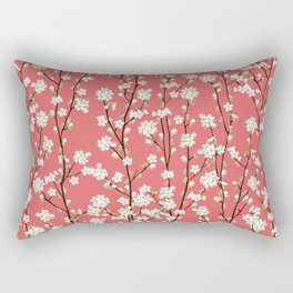 Go Orient Cherry Blossoms Rectangular Pillow