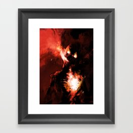 Hate Framed Art Print