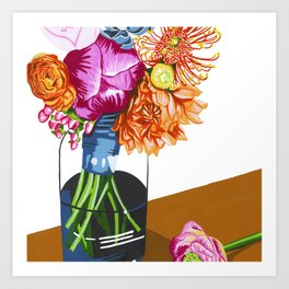 Summer Blossoms Art Print
