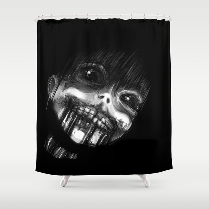 Cannibelle's Dinner Time Shower Curtain
