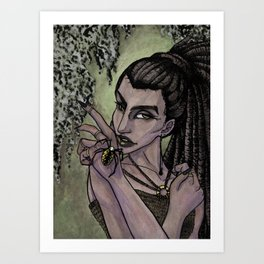 Swamp Witch - Spider Art Print