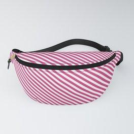 Pink Yarrow Stripe Fanny Pack