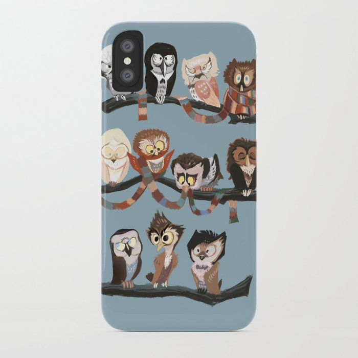 Doctor Hoo - Painted Version iPhone Case
