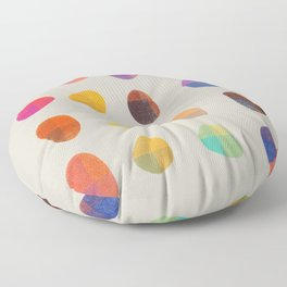Painted Pebbles 4 Floor Pillow