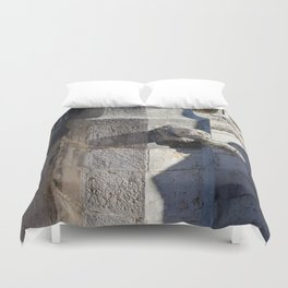 Gargoyle tower of Belem Duvet Cover
