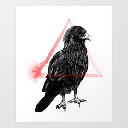 Scavenger II - Forage Art Print