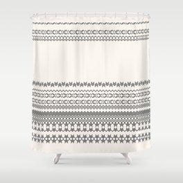 European Traditional Pattern Shower Curtain