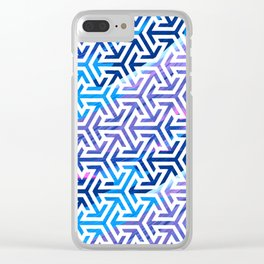 Colorful Pattern V5 #society6 Clear iPhone Case