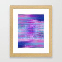 Distorted signal 02 Framed Art Print