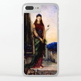 "Gustave Moreau ""Helen on the Walls of Troy"" Clear iPhone Case"