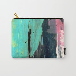 [Still] Hopeful [2] - a bright mixed media abstract piece Carry-All Pouch