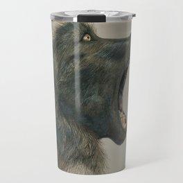 Papio ursinus Travel Mug