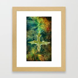 Holy Dimension Framed Art Print
