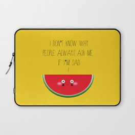 I don't know why Laptop Sleeve