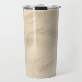 Light Brown Sand texture Travel Mug