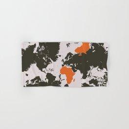 world map, Africa Hand & Bath Towel