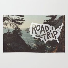 Road Trip USA - big sur Rug