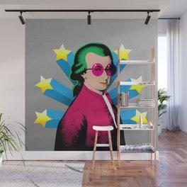Wolfgang Amadeus Mozart Rock Superstar Wall Mural