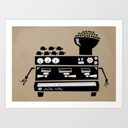 Espresso Machine Art Print