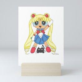 Sailor Bubbles Mini Art Print