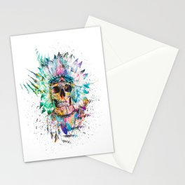 SKULL - WILD SPRIT Stationery Cards