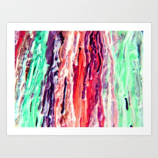 Wax #3 Art Print