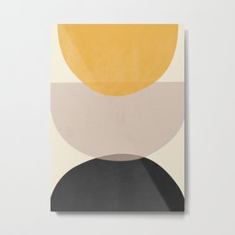 Minimalist Abstract 33 Metal Print