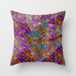 Firefly Montage Throw Pillow