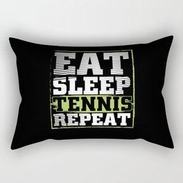 Eat Sleep Tennis   Tennis Player Gift Rectangular Pillow
