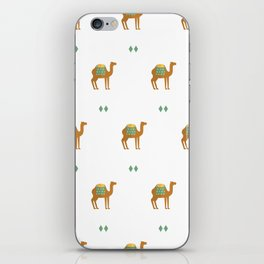 Camels all around iPhone Skin