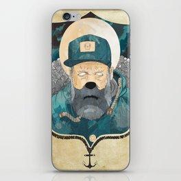 Modern day Pirate. iPhone Skin