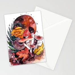 Autumnal Fall Fungi Stationery Cards