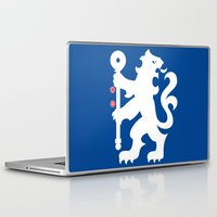 chelsea Laptop & iPad Skins featuring Chelsea FC by Khaled