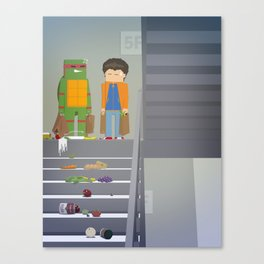 The Nick Yorkers in October Canvas Print