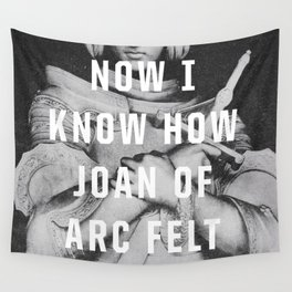 Joan of Arc Wall Tapestry
