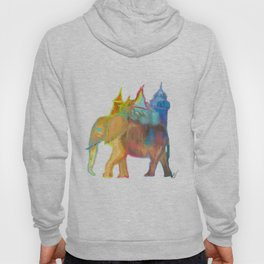 Elephant Carrying the Castle Hoody