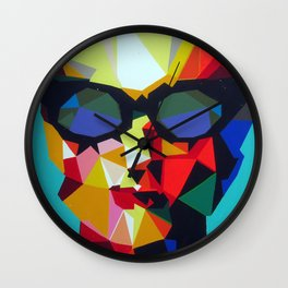 Butterfly machine Wall Clock