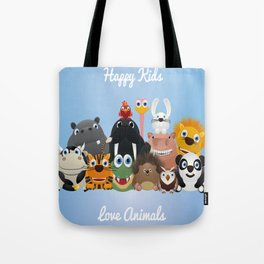 Happy kids Tote Bag