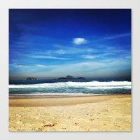 rio de janeiro Canvas Prints featuring Rio de Janeiro by lulindemann