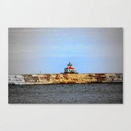 Oswego West Pierhead Lighthouse Canvas Print